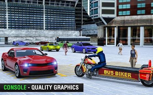 Bus Bike Taxi Driver – Transport Driving Simulator 1