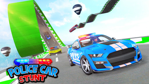 Police Car Stunt Games - Mega Ramps  APK MOD (Astuce) screenshots 1