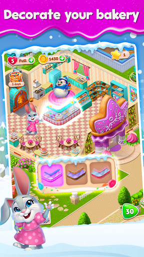 Sweet Escapes: Design a Bakery with Puzzle Games apkslow screenshots 2