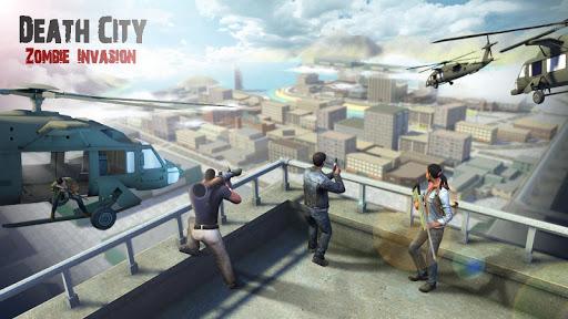 Code Triche Death City : Zombie Invasion APK MOD (Astuce) screenshots 1