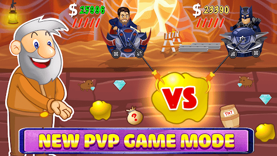 Gold Miner Classic: Gold Rush - Mine Mining Games 2.7.1 screenshots 4