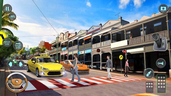 City Taxi Driving simulator: PVP Cab Games 2020 1.56 Screenshots 7