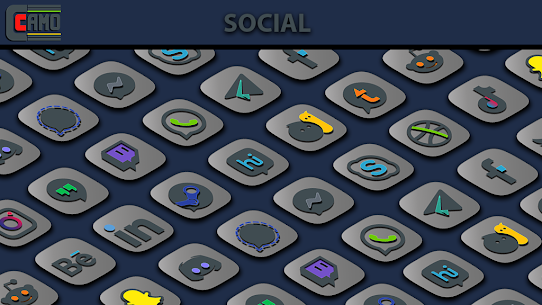 Download Camo Light Icon Pack v1.1.1 (Patched) 3