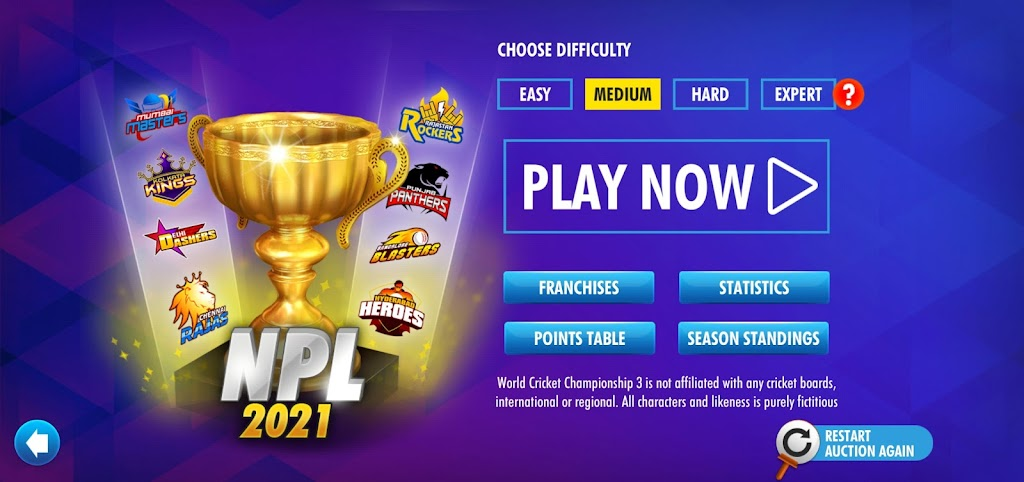 World Cricket Championship 3 - WCC3 poster 1