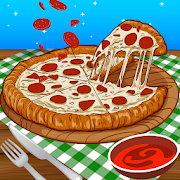 Bake Pizza in Cooking Kitchen Food Maker