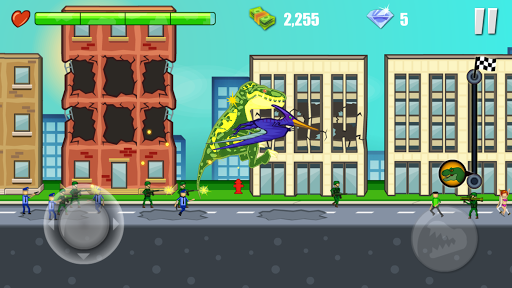 Jurassic Dinosaur: City rampage modavailable screenshots 6