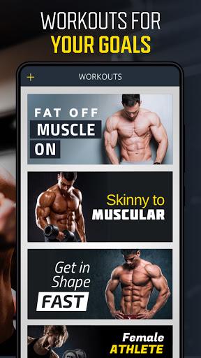 Gym Workout Planner - Weightlifting plans  screenshots 2