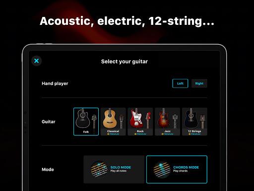 Guitar - play music games, pro tabs and chords! screenshots 9