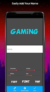 eSports gaming logo maker with name - Free 3.0 Screenshots 3