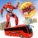 Ball Robot Transform Bus War : Robot Games
