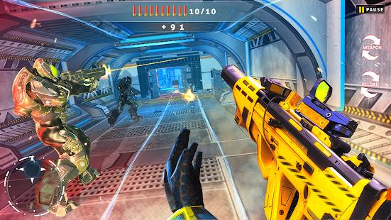 Cyberpunk Shooting: Hero Hunters Robots War Gun 1.0.4 screenshots 1
