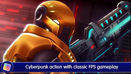 Neon Shadow: Cyberpunk 3D First Person Shooter 1.40.166 screenshots 1