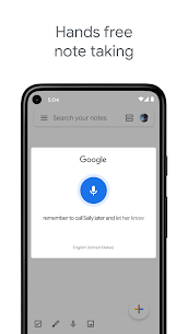 Google Keep – Notes and Lists Mod 5.21.041.04 Apk [Unlocked] 4