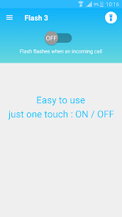 Flash notification on Call & all messages Mod Apk (VIP Unlocked) 3