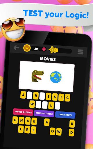 Guess The Emoji - Trivia and Guessing Game! 9.52 screenshots 12
