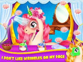 My Little Unicorn Care and Makeup - Pet Pony Care