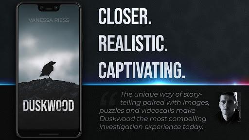 Duskwood - Crime & Investigation Detective Story apktram screenshots 18