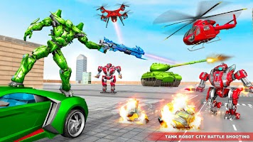 Tank Robot Car Game 2020 – Robot Dinosaur Games 3d