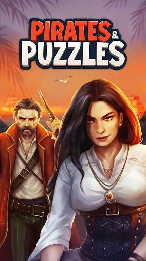 Pirates & Puzzles - PVP Pirate Battles & Match 3  screenshots 1