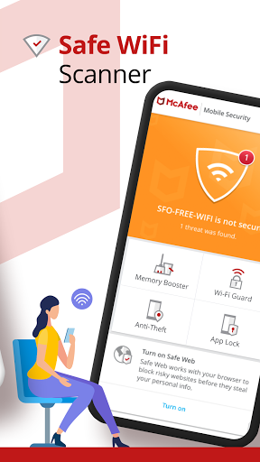 Mobile Security: VPN Proxy & Anti Theft Safe WiFi  Screenshots 4