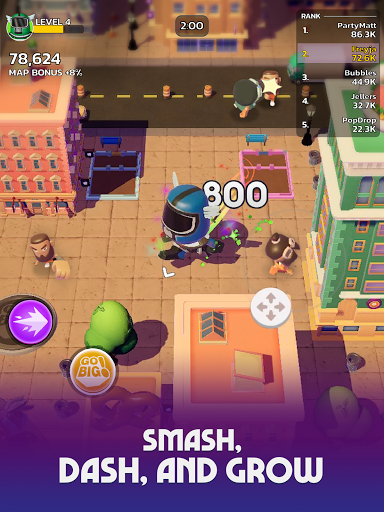 Go Big! - Smash Dash & Grow Battle Royale Game screenshots 11