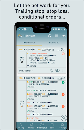 ProfitTrading For Binance - Trade much faster android2mod screenshots 4