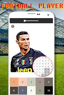 Football Logo Coloring By Number – Pixel Art Apk Son Sürüm 2021 3