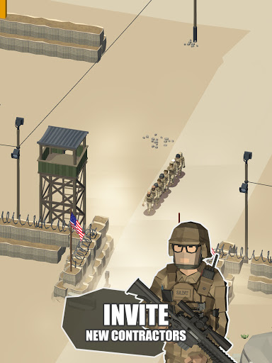 Idle Warzone 3d: Military Game - Army Tycoon screenshots 12