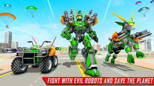Goat Robot Transforming Games: ATV Bike Robot Game screenshots 10