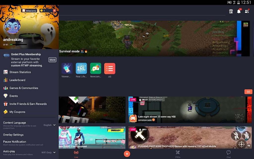 Omlet Arcade - Screen Recorder, Live Stream Games poster 14