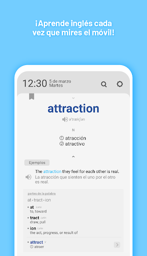 WordBit Inglu00e9s (pantalla bloqueada) android2mod screenshots 2