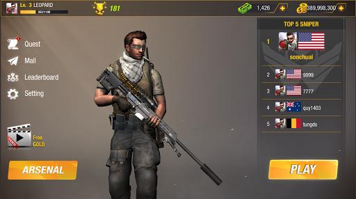Sniper Game: Bullet Strike - Free Shooting Game 1.1.4.4 screenshots 9