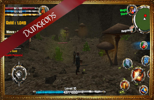 Kingdom Quest Crimson Warden 3D RPG screenshots 6