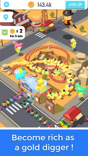 Idle Roller Coaster apkdebit screenshots 4