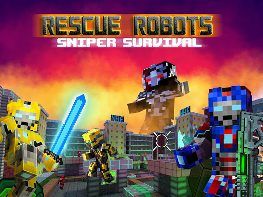 Rescue Robots Sniper Survival 1.101 screenshots 8