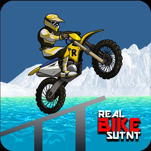 Real Bike Stunt - Moto Racing 3D