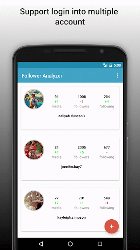 Follower Analyzer for Instagram screenshots 1