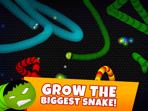 Snaky .io - Fun Multiplayer Slither Battle 5.3 screenshots 8