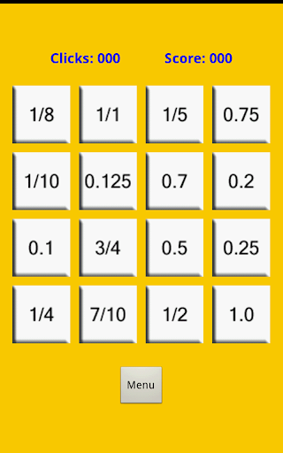 math decimals & fractions game screenshot 3