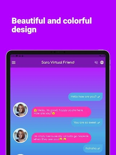 Sara Virtual Friend apktram screenshots 16