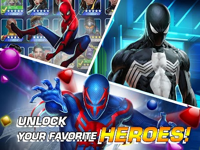 Marvel Puzzle Quest Mod Apk 219.556184[Unlimited Money]Latest Version 10