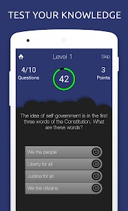 US Civics Quiz: Citizenship For Pc – Free Download In Windows 7/8/10 And Mac Os 1