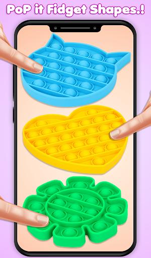 Pop It Fidget Toys Poke & Push Pop Waffle Fidgets 1.1 screenshots 10