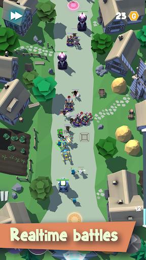 Télécharger Various Creeps - offline anti-moba action strategy APK MOD (Astuce) screenshots 1