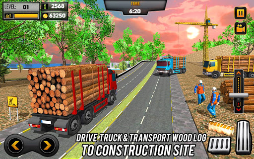 Heavy Excavator Crane Game Construction Sim 2019 apkdebit screenshots 10