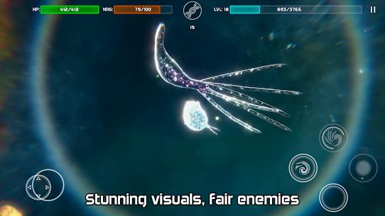 Bionix – Spore & Bacteria MOD APK 50.28 (Free Purchase) Evolution Simulator 3D 15