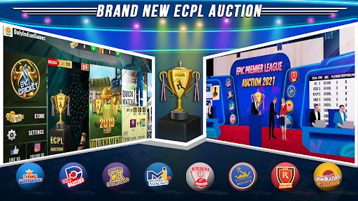 Epic Cricket - Big League Game  APK MOD (Astuce) screenshots 2