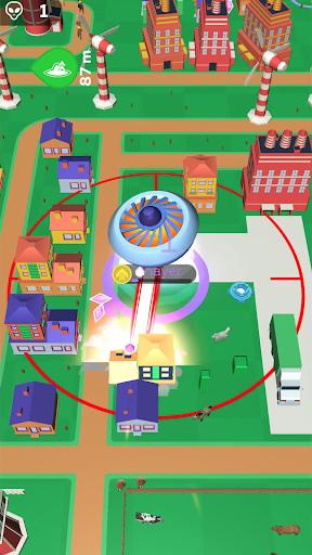 Code Triche Crazy Spaceship.io: Alien Wars apk mod screenshots 1