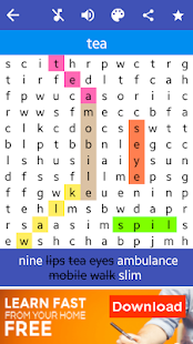 Word Search Puzzle: 100 Languages