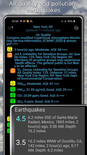 Weather app & widget with barometer: eWeather HDF  Screenshots 6